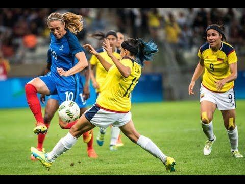 JO 2016 : France-Colombie (4-0), les buts !