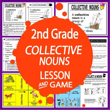 Teach students to identify and use Collective Nouns in their Writing with this COMPLETE lesson and engaging hands-on activities.