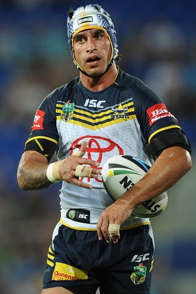Johnathan Thurston, who plays for the North Queensland Cowboys in the Australian National Rugby League. One of the leagues best players.