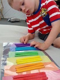 sorteren van kleuren