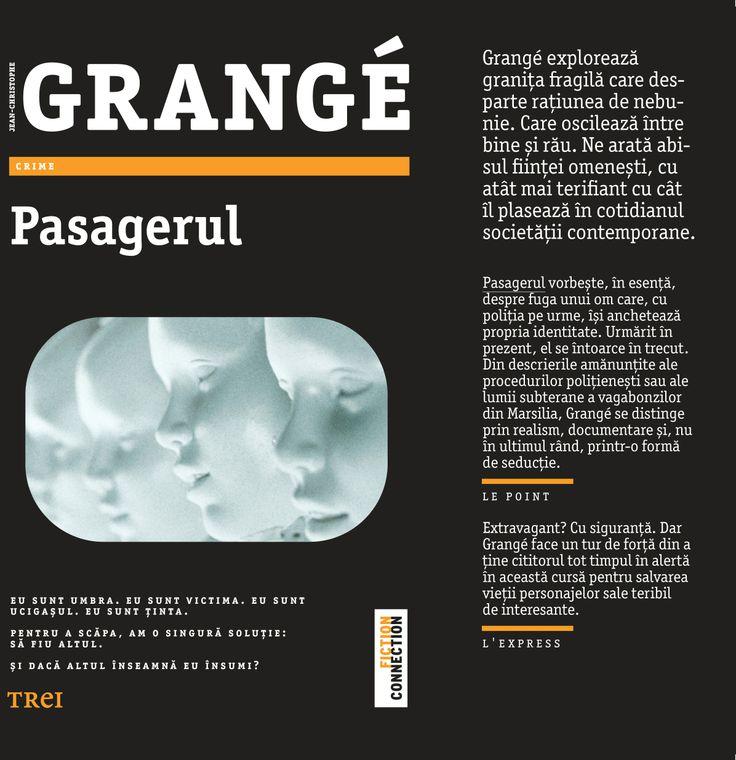 """""""Grangé face un tur de forţă din a ţine cititorul tot timpul în alertă în această cursă pentru salvarea vieţii personajelor sale teribil de interesante."""" - L'Express"""