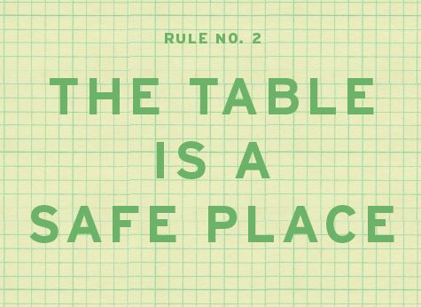 10 Rules to have at the dinning table