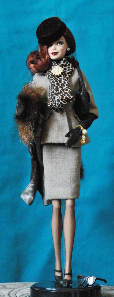 Jazz Baby Barbie Redhead with Silkstone clothes, Lingerie #5 & Fashion Boulevard #Barbie #Dolls