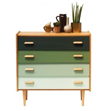 "Commode années 60 ""Gallice""  #rienacirer #vintage #meublevintage"