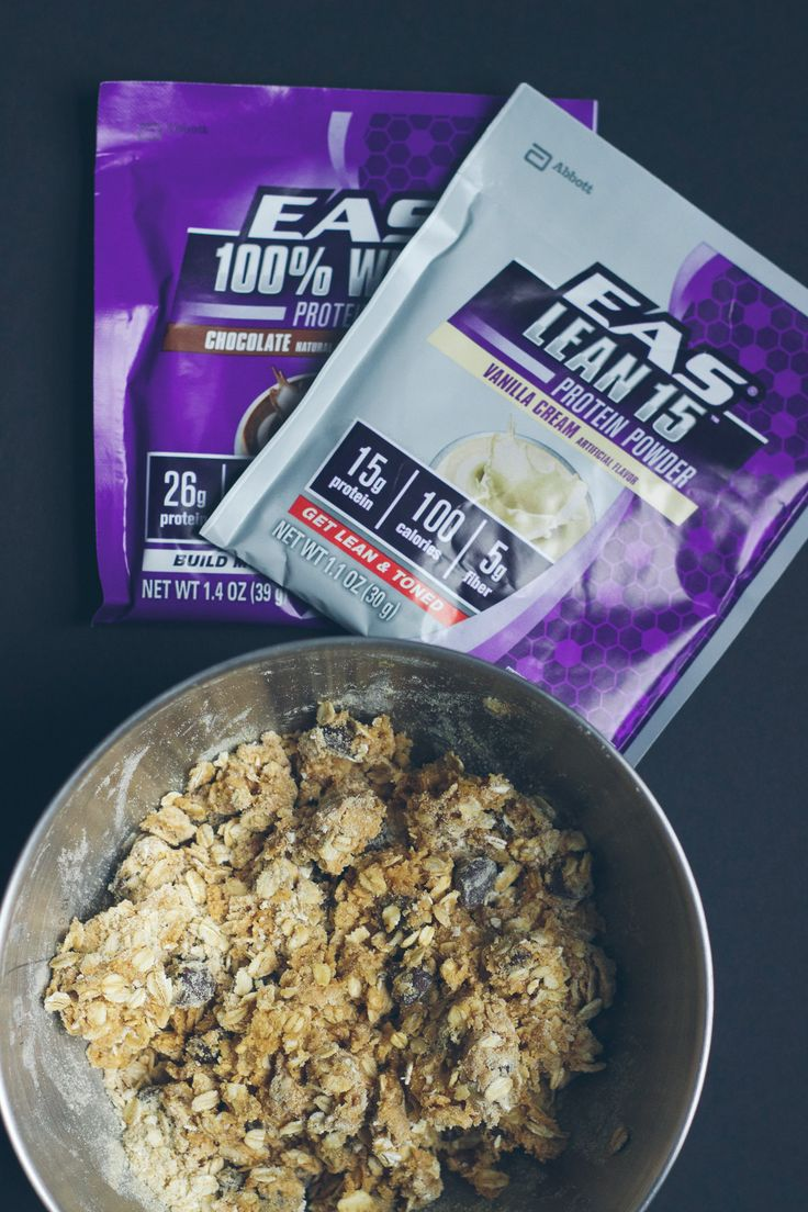 EAS protein powder recipes | healthy breakfast alternative with chocolate or vanilla! @lowstoluxe