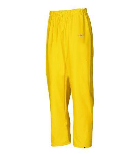 Rain Trousers Hi-Vis Flexothane Yellow XXXL – Safety-Site