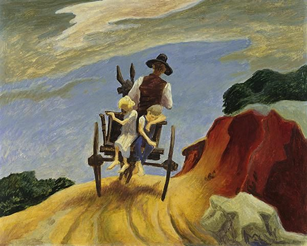 Thomas Hart Benton http://www.theslideprojector.com/art1/art1onedaylecturepresentations/lecture1-2.html