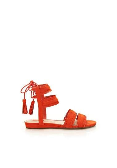 GUESS sandalen JALISA met franje