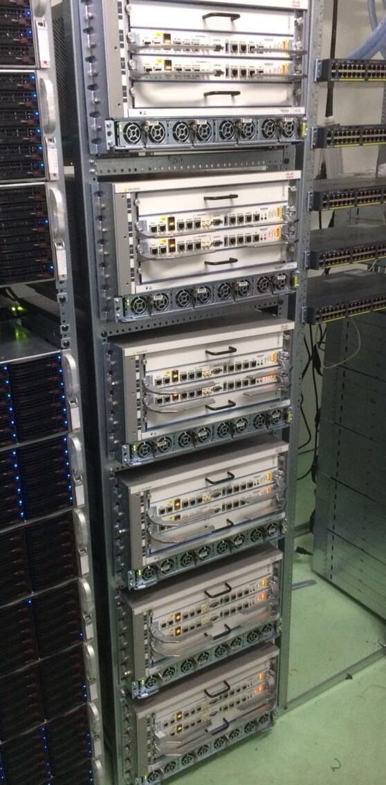A few ASR9904 in OVH Beta Zone for test