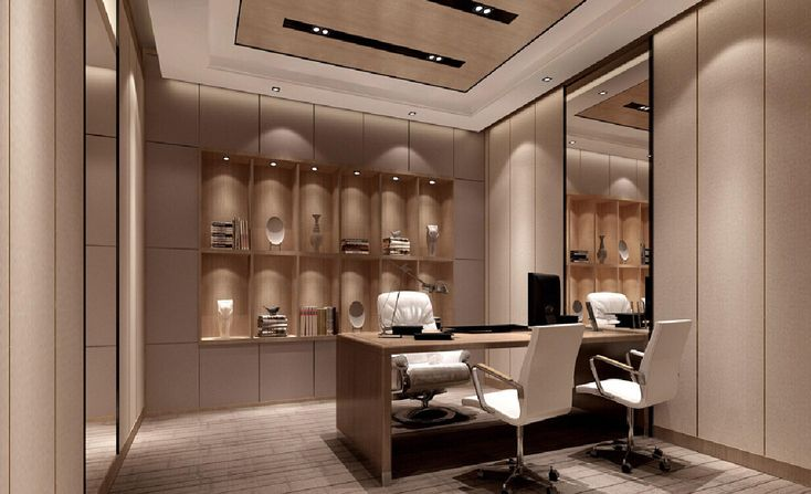 Interior-design-office-with-display-cabinets.jpg (1234×751)   A ...