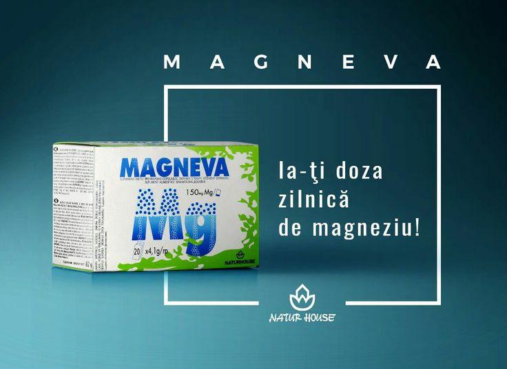 Descoperă produsul lunii în toate centrele noastre! Magneva este un nou produs Natur House, care îți oferă doza zilnică de magneziu și vitamina B6. • Indicat pentru buna funcționare a sistemului osos; • Efect detoxifiant și energizant; • Relaxeză mușchii; • Ajută la funcționarea eficientă a sistemului nervos și imunitar; • Echilibrează nivelele de sodiu și potasiu din organism; • Menține sănătatea sistemului digestiv. #NaturHouse #suplimentealimentare #magneziu