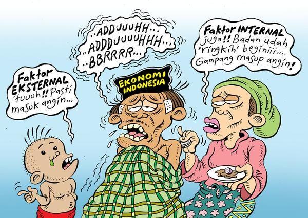 Mice Cartoon, Rakyat Merdeka - Agustus 2015: Ekonomi Indonesia