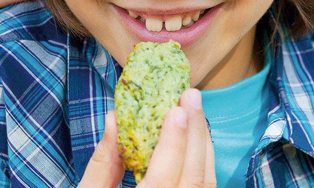 Croquetes de courgette, uma opção vegetariana para levar para o almoço