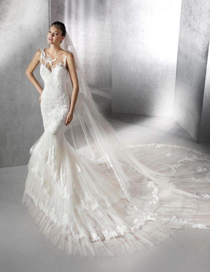 St. Patrick - ZOFIE | Jaehee Bridal Atelier  #mermaid #illusion #sweetheart #sleeveless #lace #bridal #weddingdress