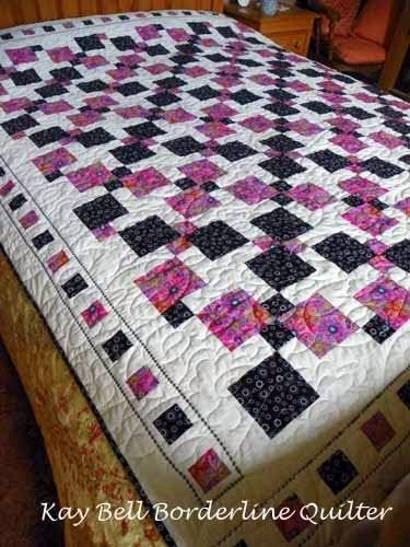 Borderline Quilter: Disappearing Nine Patch Tutorial