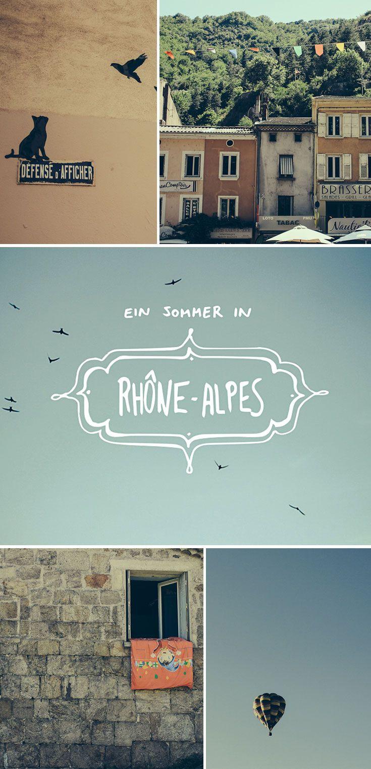 Südfrankreich zu seiner schönsten Jahreszeit: Mit Reisebloggerin Smaracuja zu den Highlights von  Rhône-Alpes und Lyon, inklusive Ballonfahrt, Spaziergang in Vogue und jede Menge Käse und Wein.
