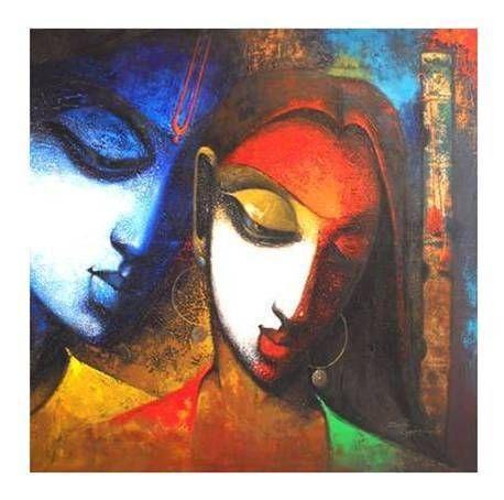 Oil Painting | Oil Paintings on Canvas in Mumbai, Maharashtra, India - Corporate Art ...
