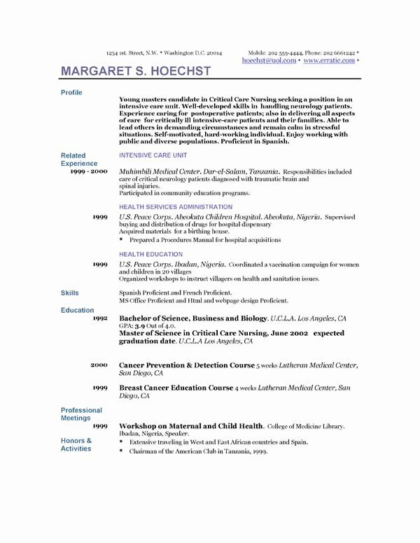 27 Peace Corps Resume Example In 2020 With Images Free Professional Resume Template Resume Template Examples Sample Resume Templates