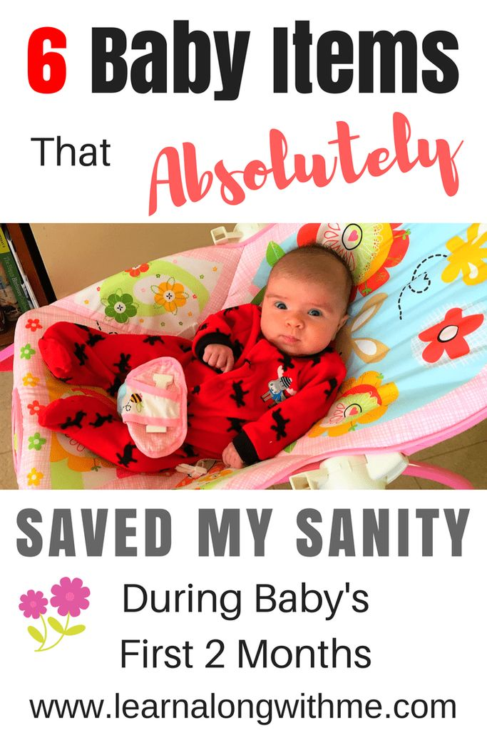 We need all the help we can get! Click to check out the baby gear that helped us.