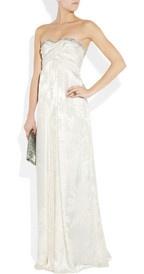 Matthew Williamson  Strapless devoré-silk gown  €3,957