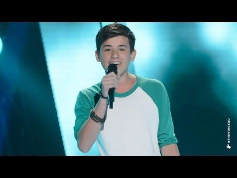Chris Sings The A Team | The Voice Kids Australia 2014