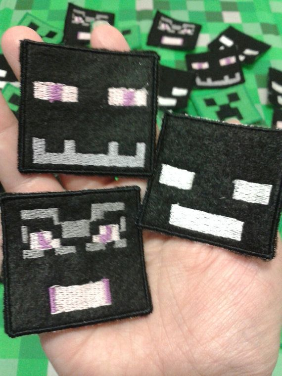 Minecraft Sew On Patches by primadiana on Etsy, $6.00