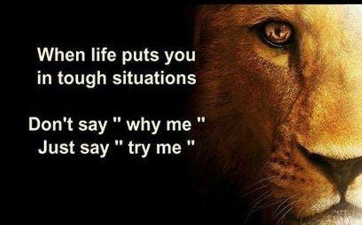 #Truth..  When problems come your way, be thankful and stay calm for it only makes you a better and stronger person