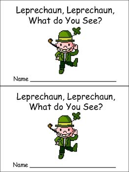 little book about St. Patrick's Day!!...
