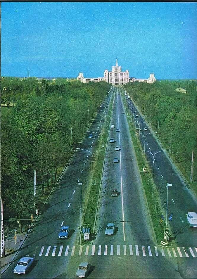 Bulevardul Kiseleff, 1980