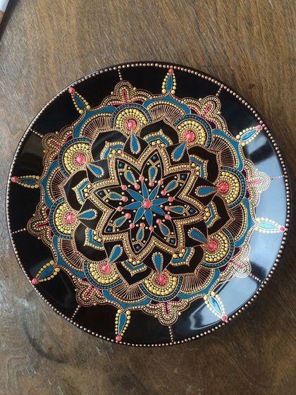 Декоративная посуда ручной работы. Ярмарка Мастеров - ручная работа. Купить Восточные сказки. Handmade. Золото, восточный стиль