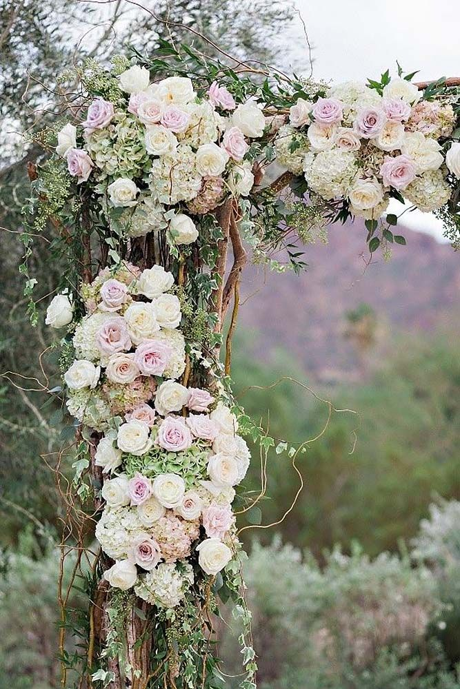 18 best wedding arches images on pinterest wedding arches wedding 30 floral wedding arch decoration ideas junglespirit Image collections