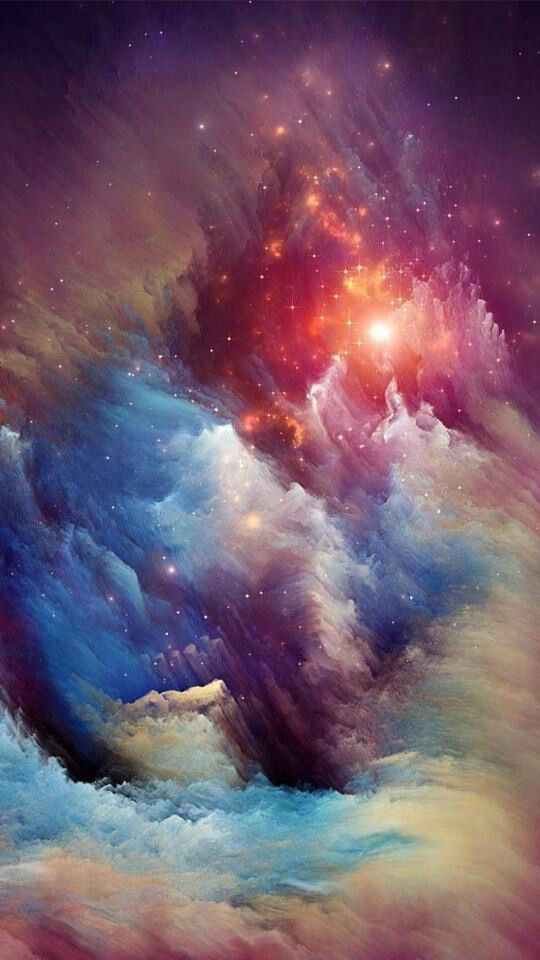 the cosmic ice sculptures of the Carina Nebula via Hubblesite. The visible space is big, complex and can be incredibly beautiful. from 9 Incredible Photos of our Universe Nebula