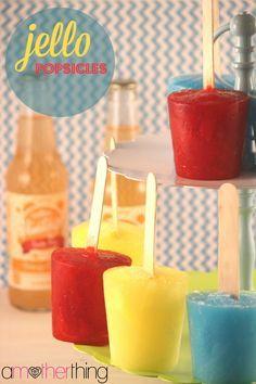 Easy Jello Popsicles Recipe - Perfect Summer Dessert Treat!