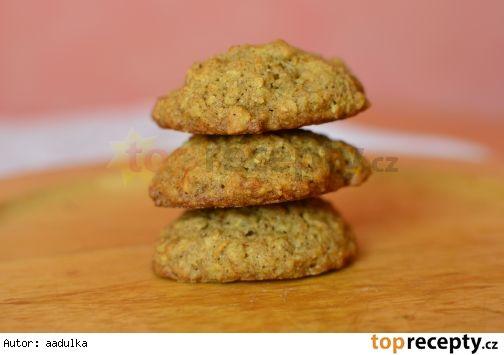 Mrkvové cookies s ovesnými vločkami