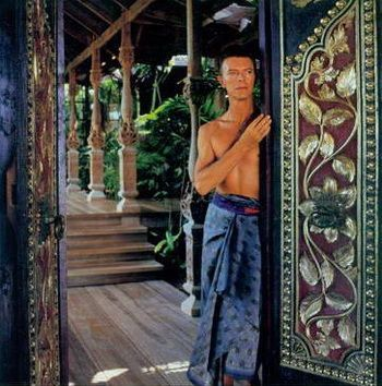 David Bowey in his Balinese Style Home in Mustique*