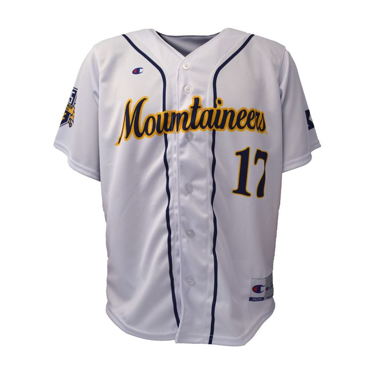 WVU Baseball Jersey - 125th Anniversary Edition Stop by the Book Exchange here at WVU to get yours today!