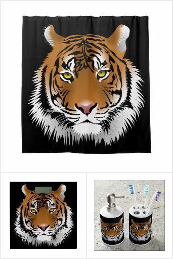 Tiger Bathroom