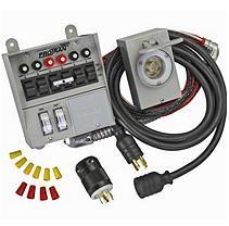 Generator Transfer Switch 4pc Kit (6 circuits)