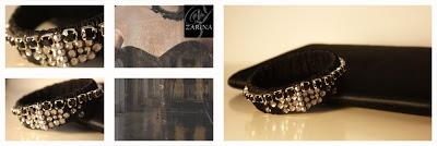 """BLACK"" one of a Kind!  Exclusive by ZARINA  Info.zarinadesigns@gmail.com"