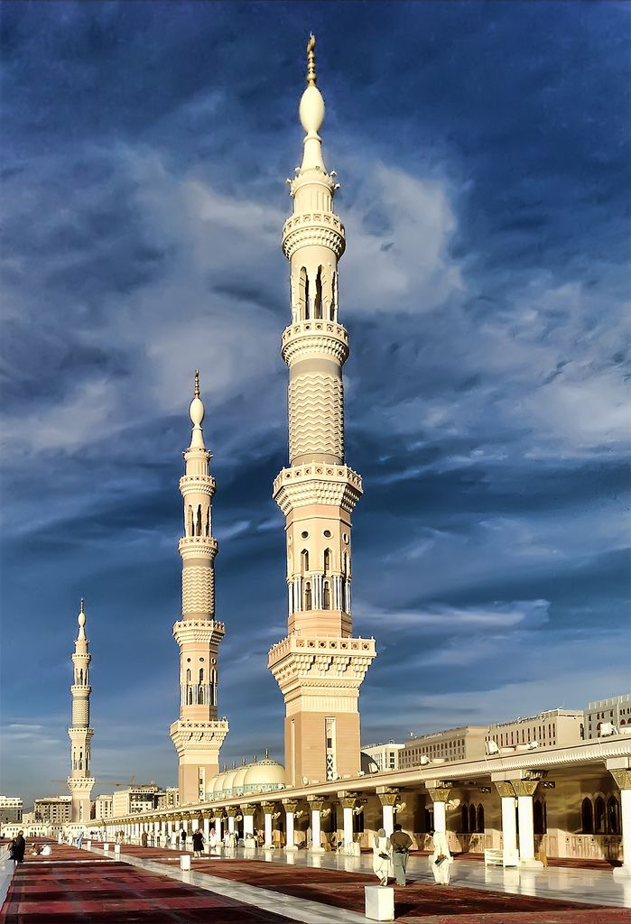 ::::♡ ♤ ✿⊱╮☼ ♧☾ PINTEREST.COM christiancross ☀❤ قطـﮧ ⁂ ⦿ ⥾ ⦿ ⁂  ❤U •♥•*⦿[†] ::::  Masjid an-Nabawi