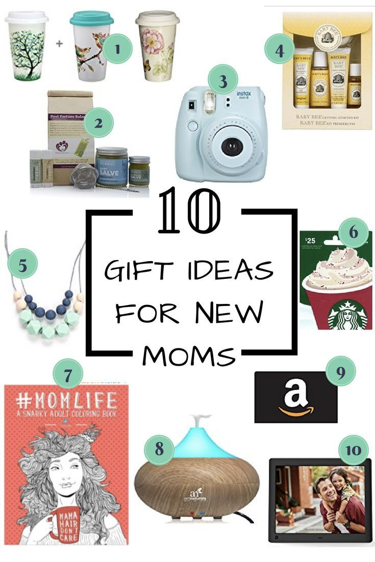 Gift ideas for new moms. The best and most unique gifts for any new mom in your life. Gifts for new mums show them you care!
