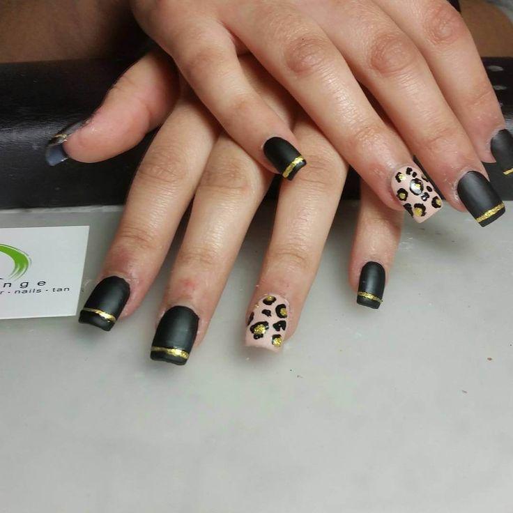 Best 25+ Leopard nail art ideas on Pinterest   Leopard ...