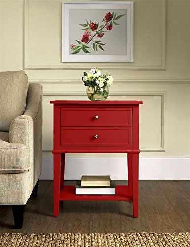 Altra Furniture Franklin Accent Table with Two Drawers, Red Altra Furniture http://www.amazon.com/dp/B010S2WA3E/ref=cm_sw_r_pi_dp_H9RLwb03X0VE5