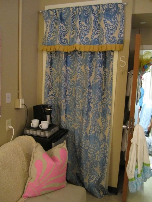curtain to cover the closet, coffee maker :)
