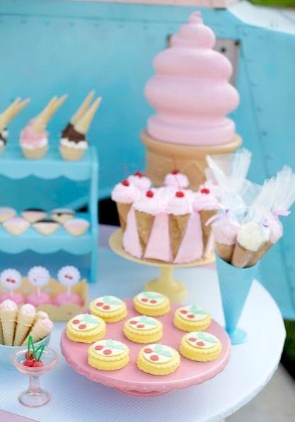 Dulces para una fiesta de cumpleaños infantil