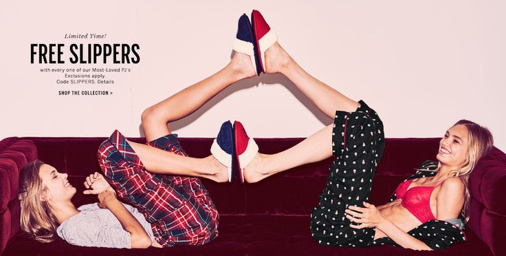 Victorias Secret Canada Deals: FREE Slippers With Every PJ  50% Off Bras  More! http://www.lavahotdeals.com/ca/cheap/victorias-secret-canada-deals-free-slippers-pj-50/135221