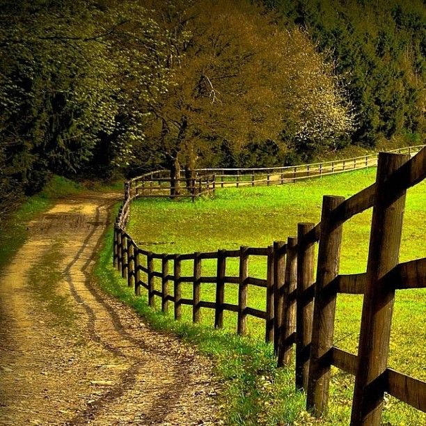 What i want the property line road around my future farm