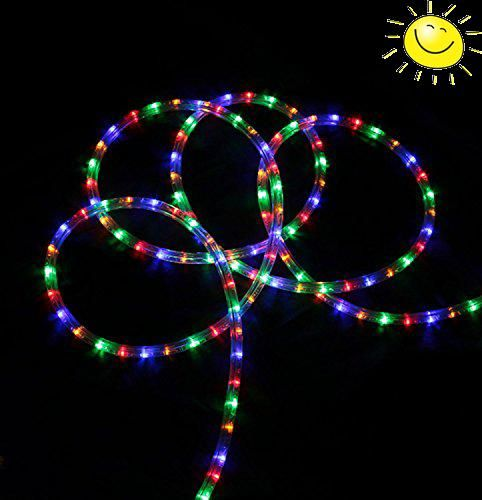 #trendy 150 Foot Commercial Christmas Rope Lights Item #LED-DL-3W-150FT-110V-M Product features: Light color: #multi-color Multi-color consists of red, green, bl...