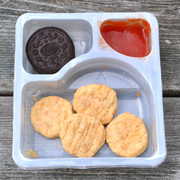 Chicken nugget lunch