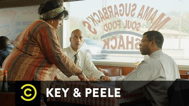 Key & Peele - Soul Food...lots of Black people don't eat soul food any more than Northern white people.